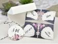 Invitatie de nunta origami