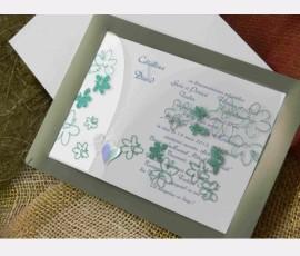 Promotie Invitatie cu flori cod 60309