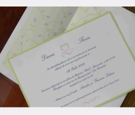 Promotie Invitatie eleganta cod 70745