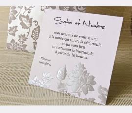 Card de confirmare elegant