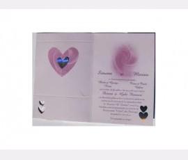 Promotie Invitatie de nunta   cod 60304V