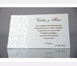 Card elegant