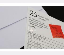 Promotie Invitatie de nunta cod 60236