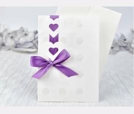Invitatie inimioare - Cod 39101