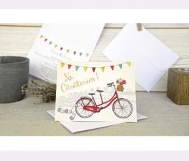 Invitatie bicicleta