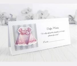 Mapă bani&Card masă 3D fetiță