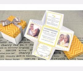 Invitatie de nunta cutiuta