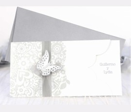 "Invitatie ""Fluture 3D"" - Cod 39222"