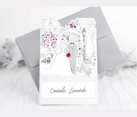 Invitatie de nunta - Cod 39238