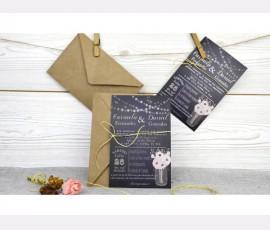 Invitatie de nunta - Cod 32524