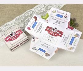 Invitatie de nunta monopoly - Cod 39604