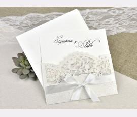 Invitatie de nunta taiere laser