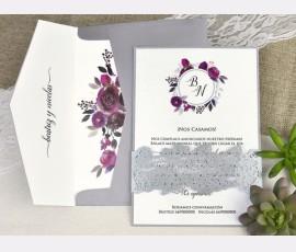 Invitatie de nunta taiere cu laser