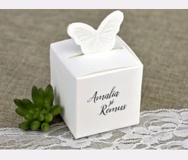 Marturie cutie fluture - Cod 4624