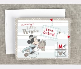 Invitatie de botez 3D Mickey Mouse