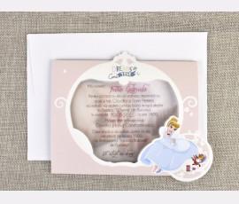 Invitatie de botez Cenusareasa - Cod 15713