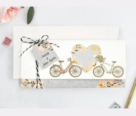 Invitatie de nunta Bicicleta 39717 - Cod 39717