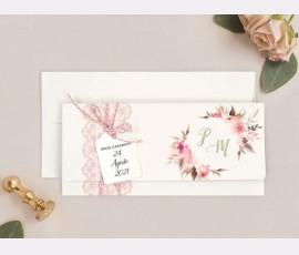 Invitatie de nunta cu poza 39718 - Cod 39718