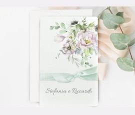 Invitatie de nunta Mint 39721 - Cod 39721