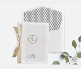 Invitatie de nunta eleganta 39722 - Cod 39722