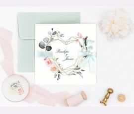 Invitatie de nunta Mint 39724 - Cod 39724