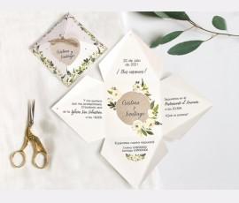 Invitatie de nunta Piramida 3D 39734