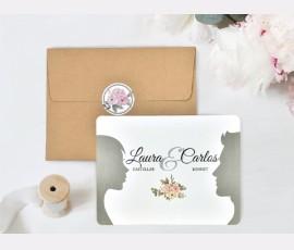 Invitatie de nunta carte postala 39741