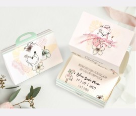 Invitatie de nunta Flamingo Birds 39745