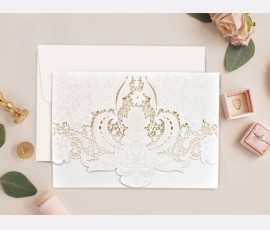 Invitatie de nunta decupaj Laser 39750