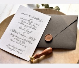 invitatie Luxury Cotton