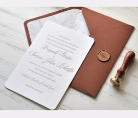 invitatie Luxury Bumbac