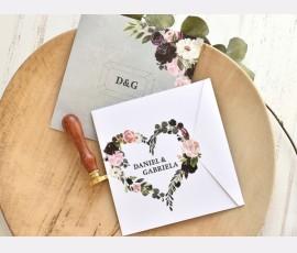 Invitatie de nunta Lovely Mint
