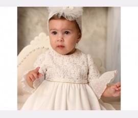 Rochie botez fetita Florens - Cod Florens