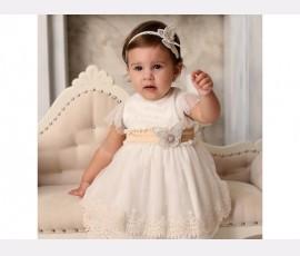Rochie botez fetita Yasmina