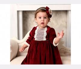 Rochie botez fetita Cristiana - Cod cristiana