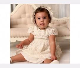Rochie botez fetita Agatha - Cod Agatha