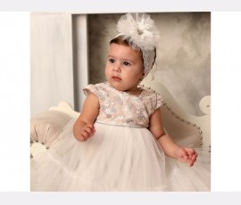 Rochie botez fetita Ilona - Cod Ilona
