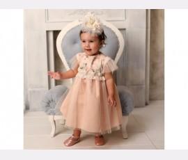 Rochie botez fetita Rozalia - Cod Rozalia