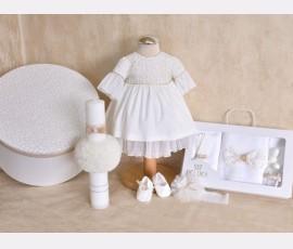 Set complet botez fetita Florens - Cod florens9