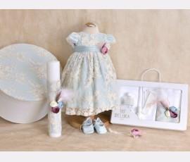 Promotie Set complet botez fetita Otilia Mint cod otilia mint8