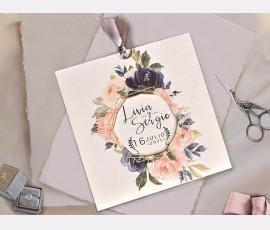 Invitatie de nunta 39804 - Cod 39804
