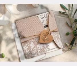 Invitatie de nunta 39814 - Cod 39814