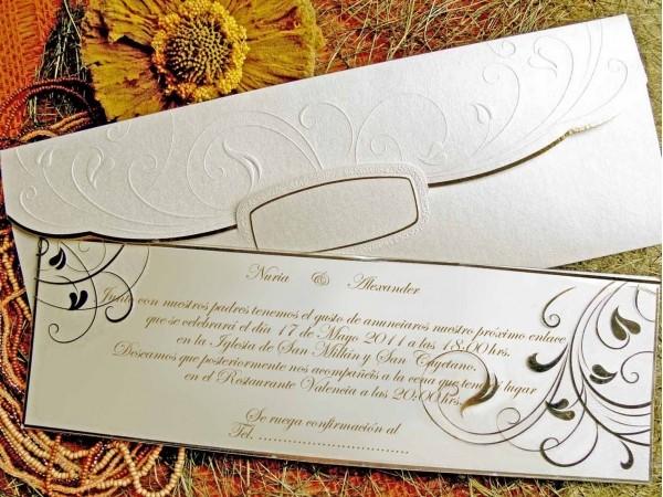 Invitatie eleganta