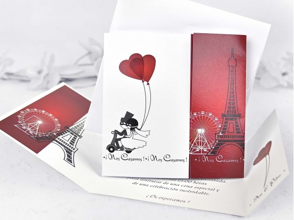 Invitatie Turnul Eiffel