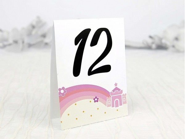 Număr masă prințesă