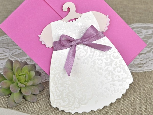 Invitatie de botez rochita