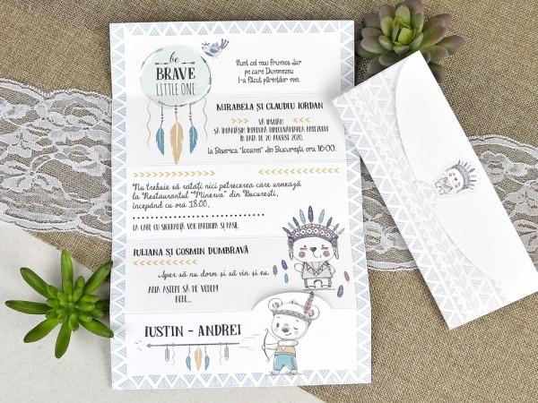 Invitatie de botez indieni