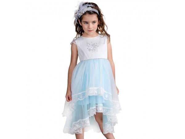 Rochie Disney Elsa turcoaz