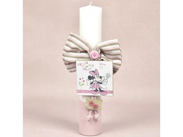 Lumanare botez pastel Minnie Fairy