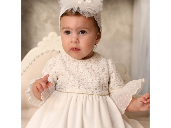 Rochie botez fetita Florens